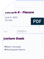 Lecture 4DESIGN OF REINFORCED CONCRETE 4