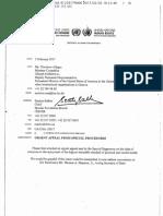 2017.04.27 - UN Letter