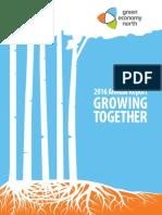 Green Economy North 2016 Annual Report