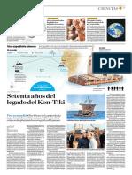 Setenta Años Del Legado Del Kon-Tiki