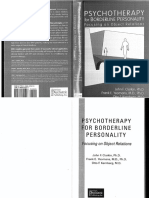 Psychotherapy for Borderline Personality Focusing on Object Relations - Clarkin, Yeomans, Kernberg