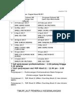 Jadual Program GPTL 2017