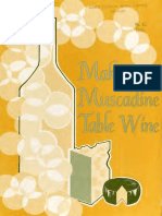 Making muscadine table wine by Carroll, Daniel E; North Carolina Agricultural Extension Service