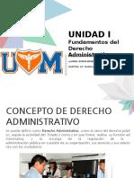 UNIDAD I Fundamentos Del Derecho Administrativo