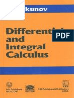 Differential and Integral Calculus - N Piskunov