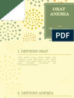 Obat Anemia