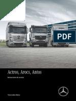 Manual Actros Fecha 02-2017 Español