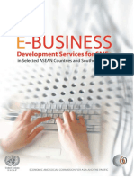BUSINESS E-Business Development Services for SMEs in Selected ASEAN Countries and Southern China
