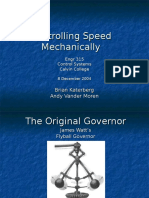 Mechanical Governor