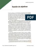Clarificacion de Objetivos V1 Diseno Mecanico