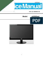 Aoc e2450swd Lcd Monitor
