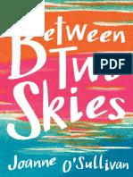 Between Two Skies  by Joanne O'Sullivan Chapter Sampler
