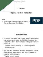 SSED_Ch 7 - Bipolar Junction Transistors_Print