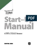 PrimeTime Start-Up Manual