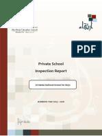ADEC - Al Nahda National School for Boys 2015 2016