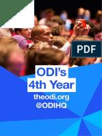 ODI's 4th Year