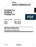 Manual Tablero Komatsu PC200