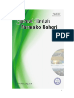 Jurnal Farmako Bahari Vol. 6 No. 1 Januari 2015