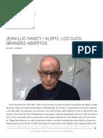 Nancy, Jean-Luc - Alepo, los grandes ojos abiertos.pdf
