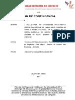 Plan de Contingencia - Archa