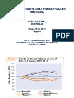 Consumo Sustancias Psicoactivas Colombia Delia Hernandez
