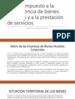 Hechos Generadores Importacion e Internacion Clase 7