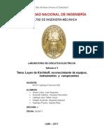 Informe de Laboratorio N_1 - Leyes de Kirchoff_19!04!17