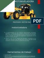 Manual de Motoniveladora