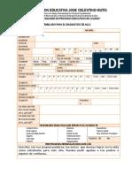 Formulario de Diagnostico de Aula
