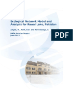 Ecological Network Model and Analysis for Rawal Lake, Pakistan.Credited to Amjad, M., Fath, B.D. and Rovenskaya, E