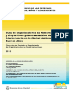 CDNNyA - Guía de ONGs y Dispositivos Gubernamentales de NNyA de CABA (2016)