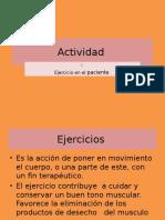 Actividad y Ejercicio Del Cuerpo (1)
