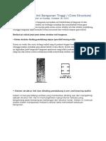 Sistem Struktur Bangunan Bertingkat Tinggi