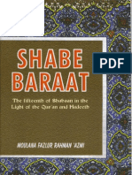 The virtues of the 15th of Sha'baan