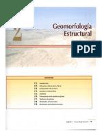Geomorfología estructural.