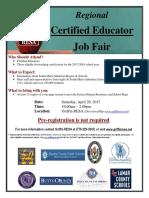 HUGE Teacher Job Fair