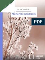 Mazurek Mlodziezy