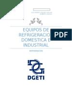 Equipos de Refrigeracion Domestica e Industrial