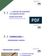 Correccion y Estilo en Español 1