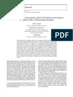 [P, 2006] Development of Meta Skill