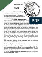 Die Grossen Berner Renntage 2017, Flyer