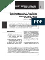 Gaceta Civ Agosto 2013. Reglamento de Ley Habilitaciones