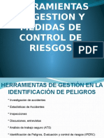 Herramientas de Gestión y Medidas de Control de Riesgos