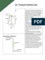 Equipos de Transformacion Quimica