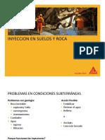 9. SIKA- DIAPOSITIVAS-Consolidacion y Establizacion de Rocas