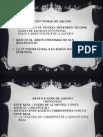 Filosofía Medieval -Sto. Tomás