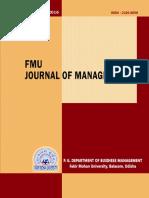 FMU Journal 2016