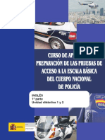 Policia Nacional Ingles UD1