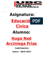 Hugo Noe Arciniega Frias- UBCtepic- Educacion Civica