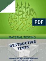 Hardness & Impact Test